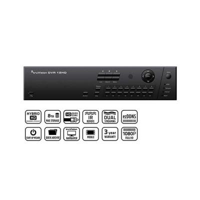 tvr12hd - inregistratoare video hybride, varianta economica, 4 - 16 camere analogice, hd-tvi sau ip, integrabile cu ats8600